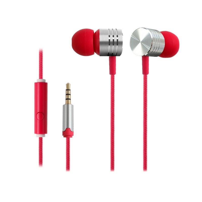 Écouteurs intra-auriculaires à isolation phonique EARFUN EF-E4 Rouge