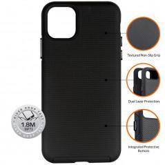 Coque rigide Eiger NORTH Apple iPhone 11 Noir
