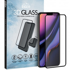 Protection écran verre trempé Eiger 3D GLASS Apple iPhone 11 PRO MAX / XS MAX