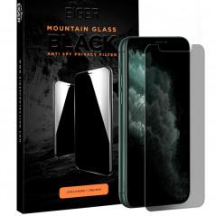 Protection écran verre trempé Eiger 3D GLASS PRIVACY Apple iPhone 11 PRO/XS/X