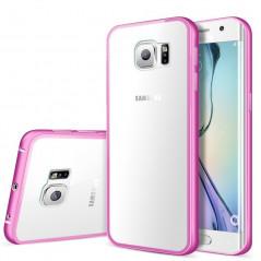 Coque aluminium Samsung Galaxy S7 Edge Rose