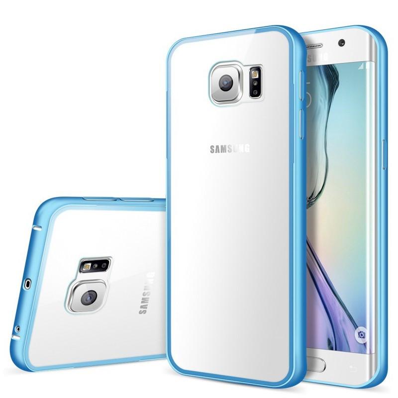Coque aluminium Samsung Galaxy S7 Edge Bleu
