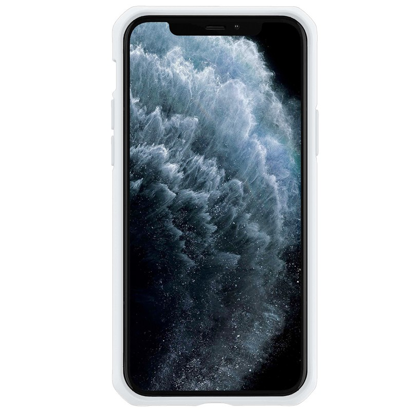 Coque pour Apple iPhone 11Coque Ultra Fine en Verre trempé avec Aimant intégré