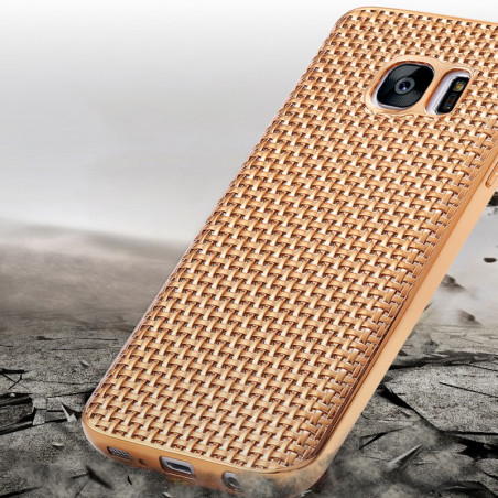 Coque silicone Gel Texture Optic Samsung Galaxy S7