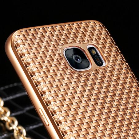 Coque silicone Gel TRECCIA Series Samsung Galaxy S7