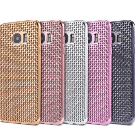 Coque silicone Gel TRECCIA Series Samsung Galaxy S7 Edge