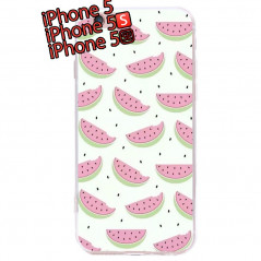 Coque silicone gel PASTEQUE Apple iPhone 5/5S/SE