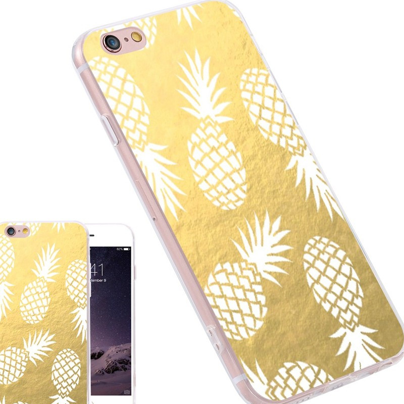 iphone 6 coque silicone ananas