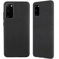 Coque eco-cuir Uunique Nutrisiti BIO Samsung Galaxy S20/S20 5G Noir