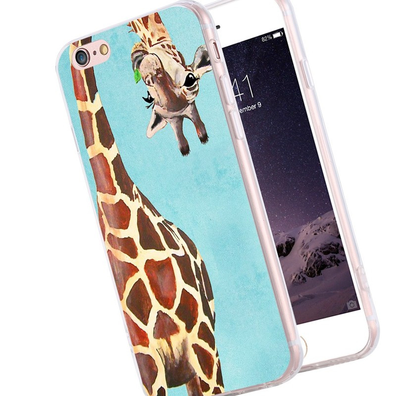 Coque silicone gel GIRAFE Apple iPhone 6/6s