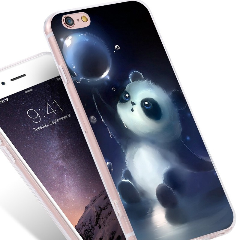 coque silicone iphone 6 panda