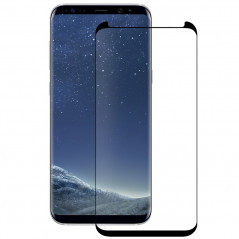 Protection écran verre trempé Eiger 3D GLASS CF Samsung Galaxy S8 Plus